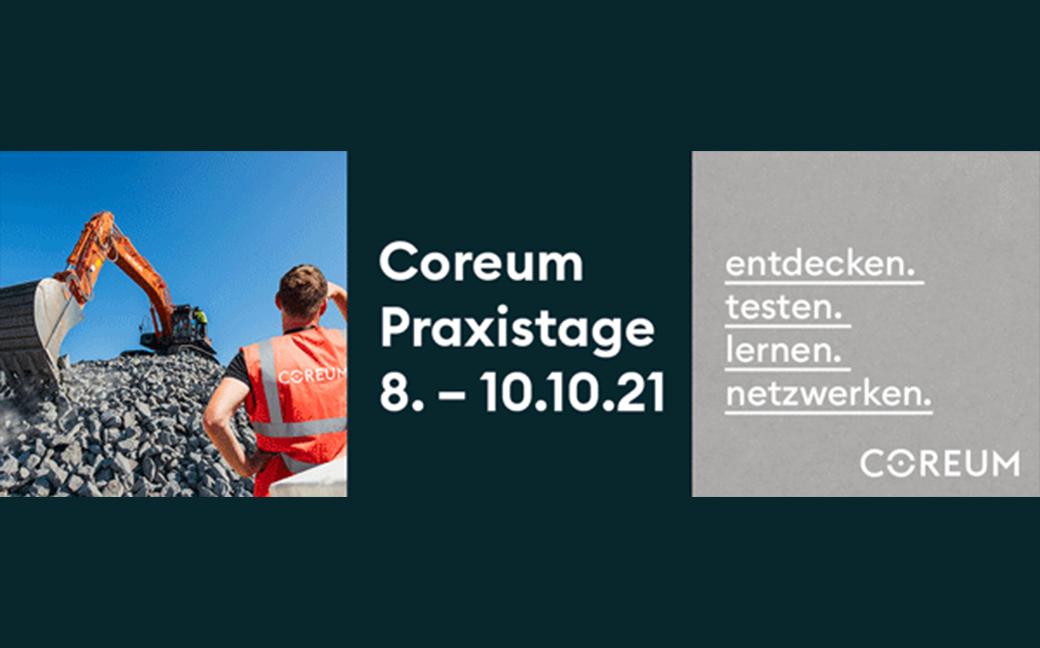 Coreum Praxistage 8.-10.10.21